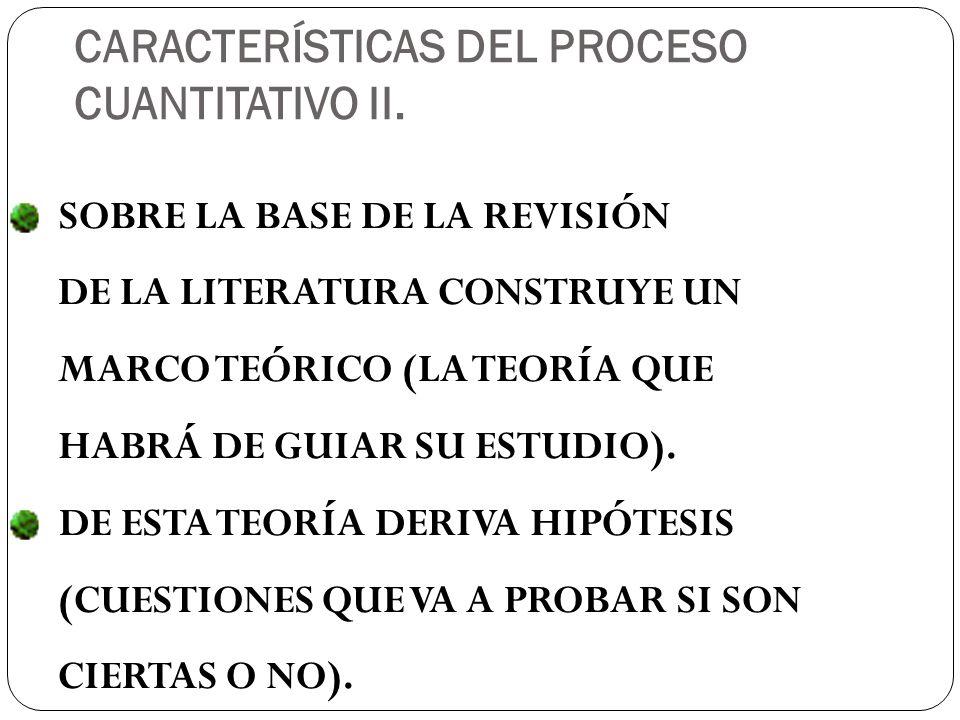 SOBRE LA BASE DE LA REVISIÓN DE LA LITERATURA CONSTRUYE UN MARCO TEÓRICO (LA TEORÍA QUE HABRÁ DE GUIAR SU ESTUDIO).