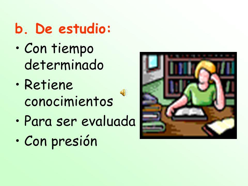 2. Tipos de lectura : a.De recreación: Relajada Al propio ritmo Por propio interés