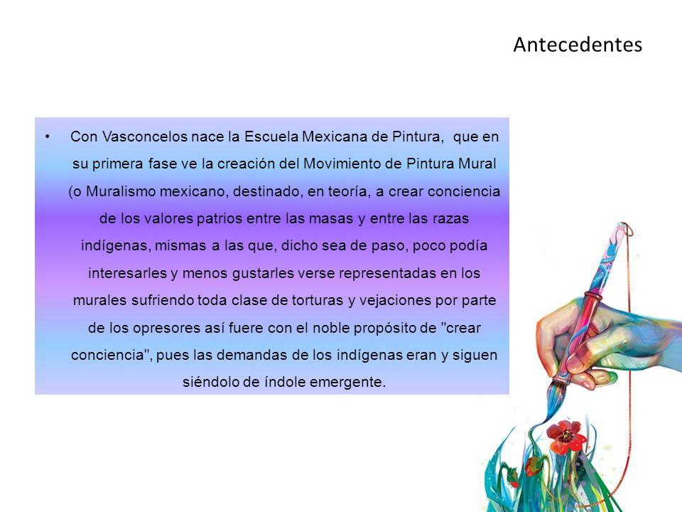 La mayoría de los pintores que iniciaron sus trayectorias profesionales en México durante la primera fase del muralismo se vieron necesariamente inmiscuidos en el gran mosaico que conforma la Escuela Mexicana, ya fuere que entre sí comulgasen, o no, en propósitos.