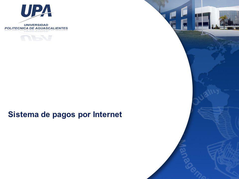 Sistema de pagos por Internet