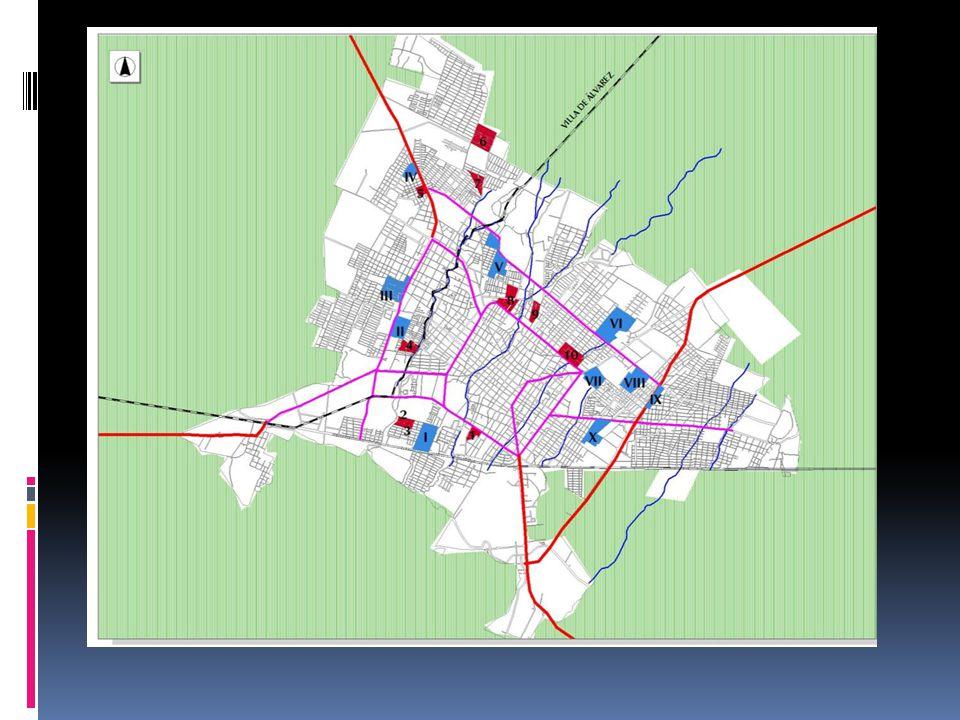 Otros elementos La existencia de equipamiento pero sin participación de los vecinos para vigilarlo y mantenerlo Zonas de puntos rojos Violencia intrafamiliar Delitos urbanos Suicidios