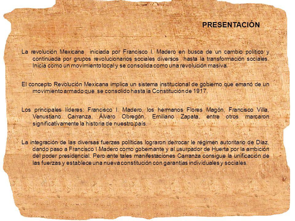 1. Antecedentes de los proyectos revolucionarios