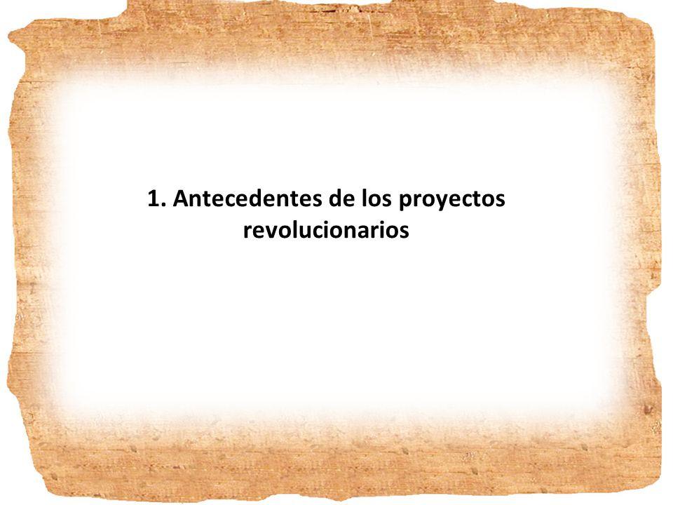 1. ANTECEDENTES E INFLUENCIAS DE LA REVOLUCIÓN