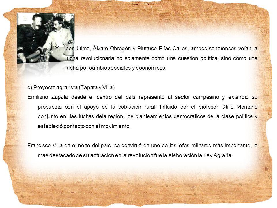 2. El Plan de San Luís y lucha armada contra Díaz