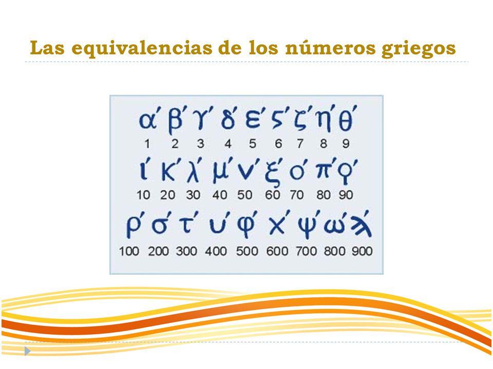 Orígenes y evolución de los números griegos Se estima que el sistema de numeración griego más antiguo fue el llamado ático o acrofónico, el cual funcionaba de forma parecida al romano, que deriva de este sistema.