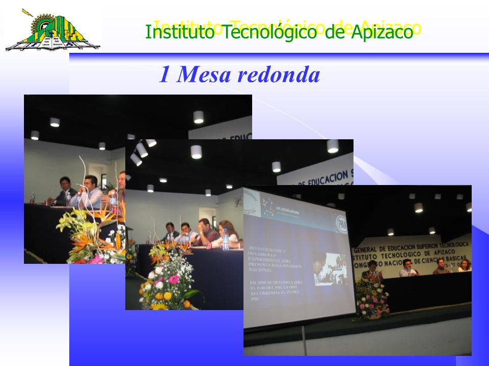 Instituto Tecnológico de Apizaco 1 Mesa redonda