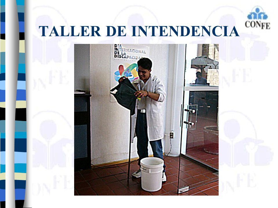 TALLER DE INTENDENCIA