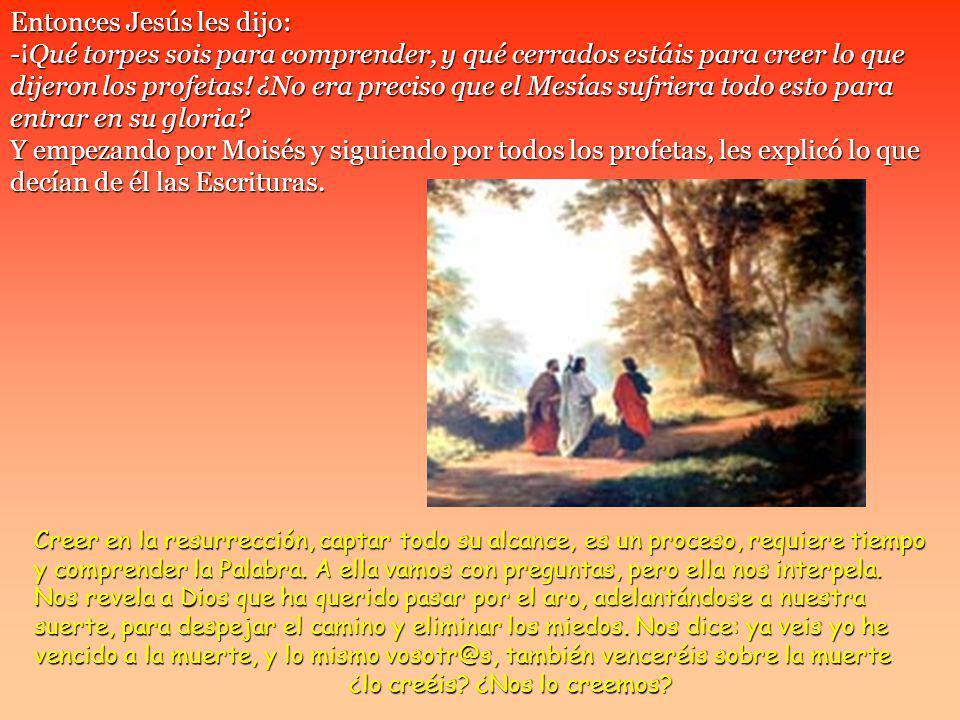 Ellos contestaron: -Lo de Jesús el Nazareno, que fue un profeta poderoso en obras y palabras ante Dios y ante todo el pueblo.