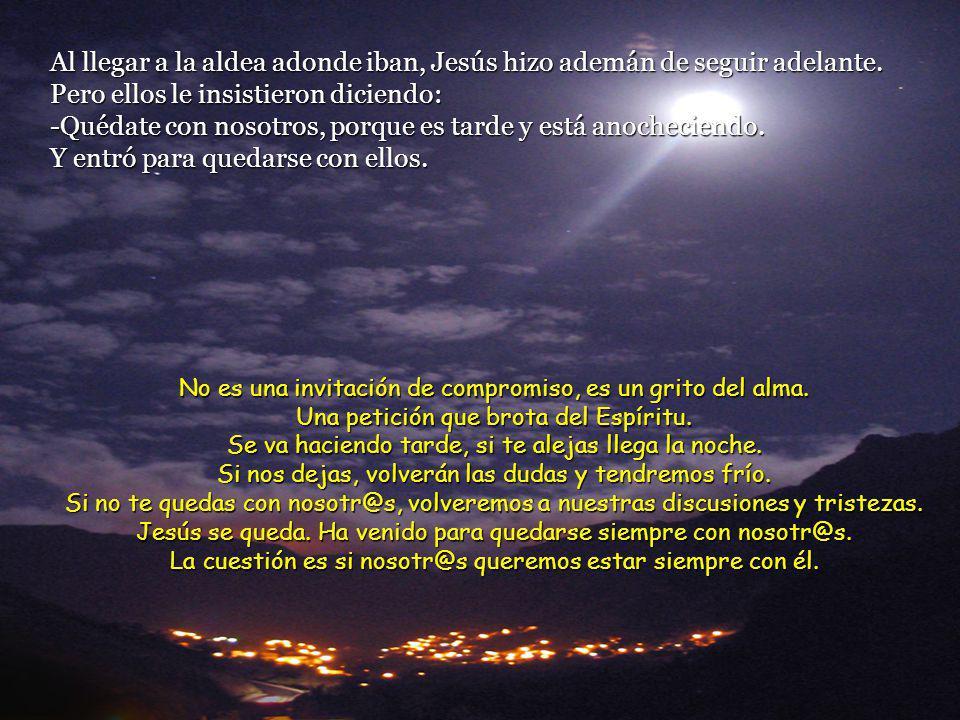 Entonces Jesús les dijo: -¡Qué torpes sois para comprender, y qué cerrados estáis para creer lo que dijeron los profetas.