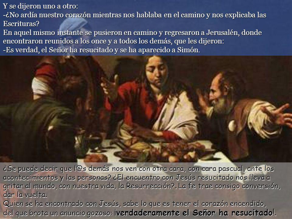 Cuando estaba sentado a la mesa con ellos, tomó el pan, lo bendijo, lo partió y se lo dio.