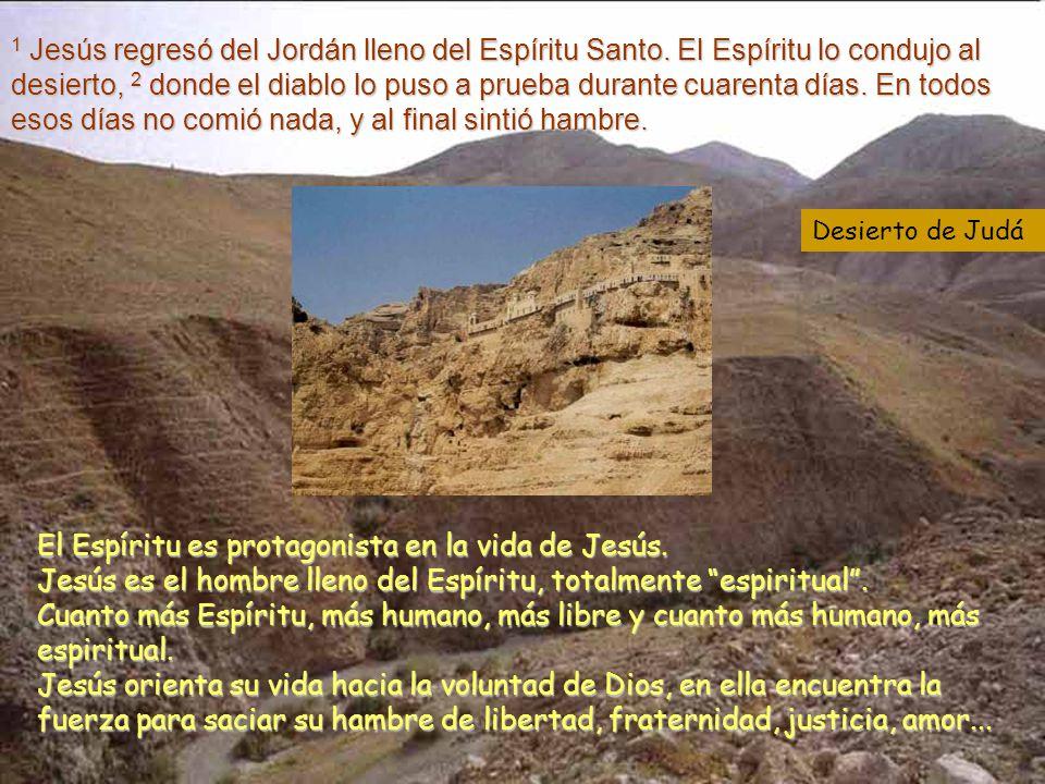 Jesús tolera ser tentado para que en Él aprendamos todos a triunfar (San Ambrosio).