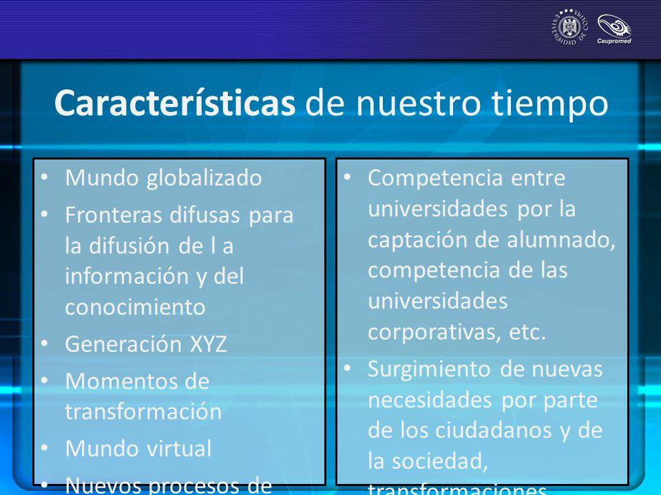 Transformaciones exigidas… El sistema universitario mundial se enfrenta a situaciones que exigen transformaciones profundas.