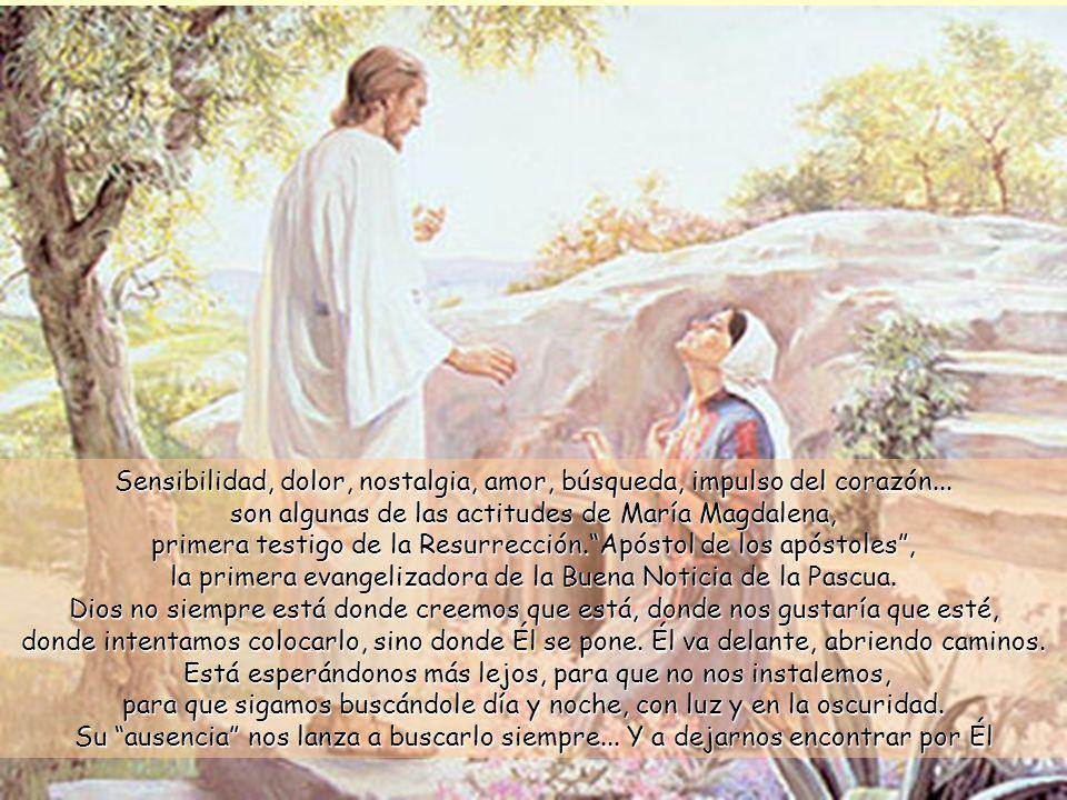 Cuando vio que había sido rodada la piedra que tapaba la entrada, 2 se volvió corriendo a la ciudad para contárselo a Simón Pedro y al otro discípulo