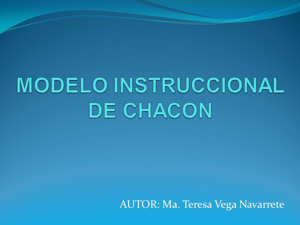 AUTOR: Ma. Teresa Vega Navarrete