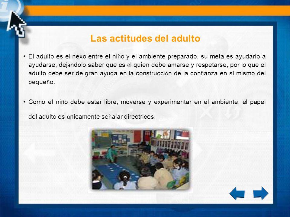 Conclusiones Los ni ñ os Montessorianos aprenden a trabajar tanto independientemente, como en grupo.