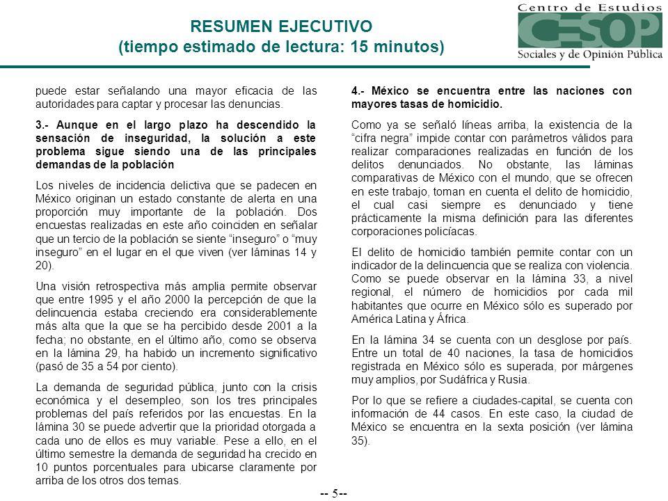 -- 16-- Vivienda Nacional 4-9 de enero de 2005 Fuente: El Universal, 24 de enero de 2005, p.