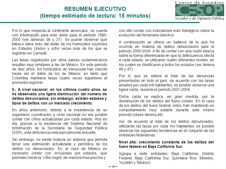 -- 67-- Porcentajes de crecimiento en delitos por cada mil habitantes, según entidad federativa 2000-2004 Incremento delictivo superior a 25 por ciento Decremento delictivo superior a -25 por ciento ESTADOS DE INCIDENCIA DELICTIVA MEDIA BAJA Fuero Común Total Total Fuero ComúnRobo Contra la Integridad Física 1 Otros 2 Fuero Federal Aguascalientes7.6%6.4%3.9%56.4%0.6%36.6% Chiapas14.6%13.8%29.2%-18.9%19.3%28.5% Guanajuato21.0%21.8%29.8%2.4%23.0%3.7% Guerrero-37.7%-39.0%-62.1%-34.2%-26.4%-3.0% Oaxaca13.8%14.5%40.1%-5.4%14.4%2.2% Puebla11.5%13.2%20.7%-3.1%14.2%-36.2% Sinaloa-14.9%-15.3%-8.2%-12.5%-23.1%-12.0% Veracruz9.1% 8.7%19.0%-0.2%7.7% 19.3% Fuente: Elaboración propia con base en Sistema Nacional de Seguridad Pública, Resumen de Incidencia Delictiva 2004, Secretaría de Seguridad Pública y Consejo Nacional de Población y Vivienda.