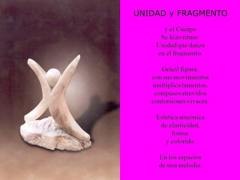 UNIDAD y FRAGMENTO y el Cuerpo Se hizo ritmo: Unidad que danza en el fragmento.