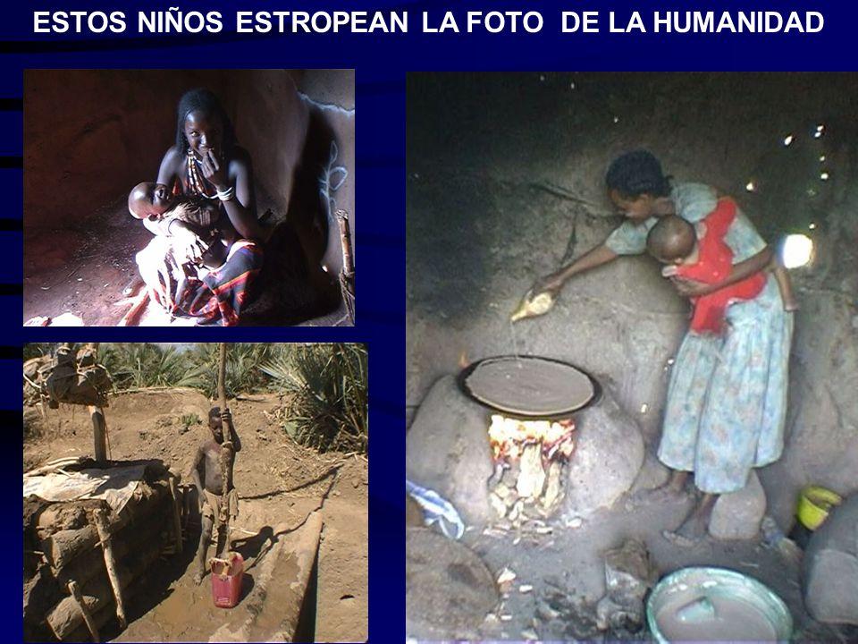 ESTOS NIÑOS ESTROPEAN LA FOTO DE LA HUMANIDAD
