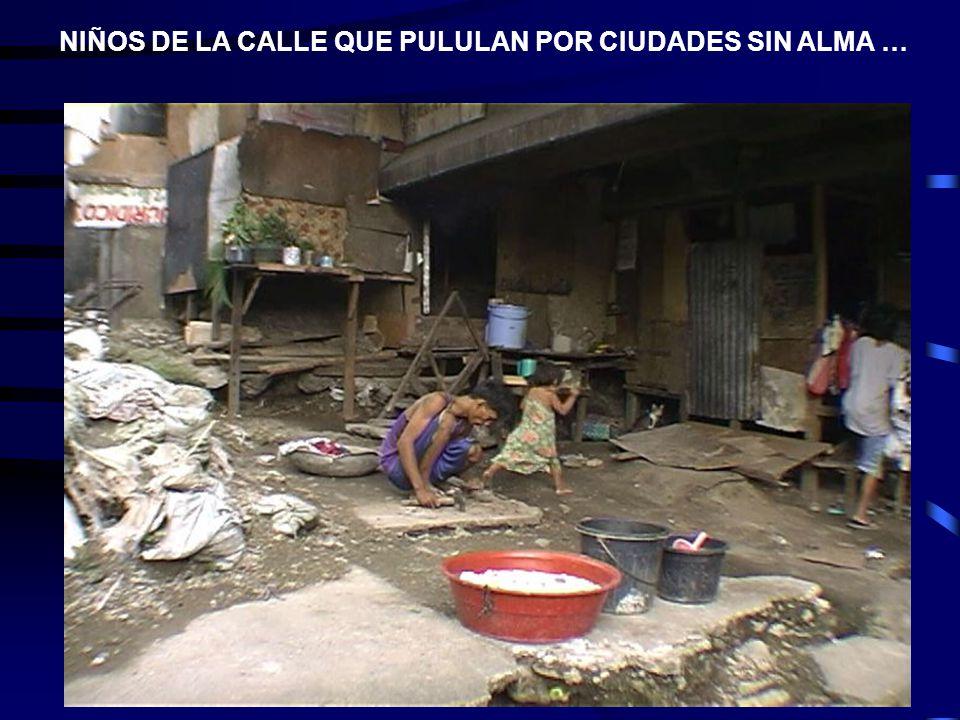 NIÑOS DE LA CALLE QUE PULULAN POR CIUDADES SIN ALMA …