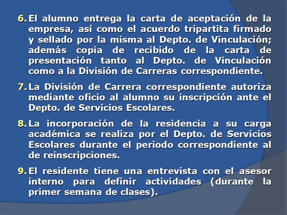 4.El alumno regresa a la División de Carreras correspondiente para la ratificación del resultado (4 y 8 de agosto de 2014 según corresponda fecha por