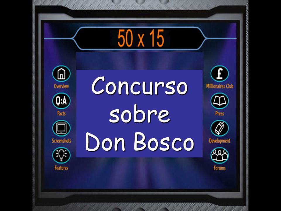 ¿Cuál de estos NO fue un oficio de Don Bosco cuando era joven? Campesino Sastre Camarero Albañil