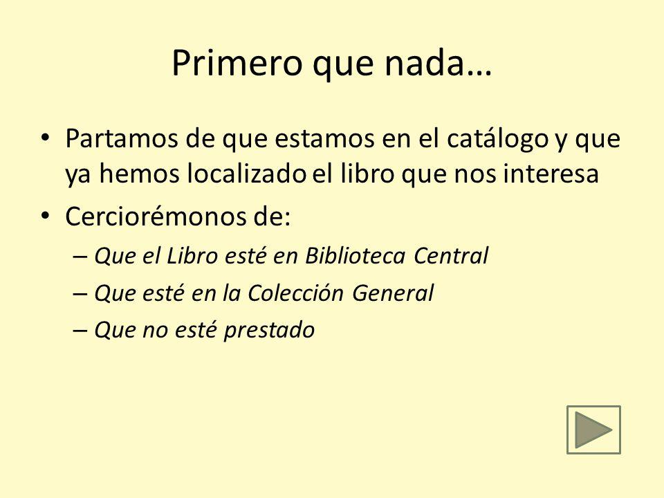 Aprendiendo cómo encontrar libros en la estantería por Saúl H. Souto Instrucciones para navegar en esta presentación: No use las flechas, espere a que