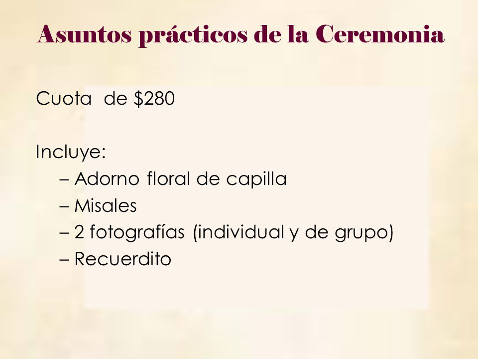 Día: 1 de febrero Hora: 8:00 a.m. Lugar: Auditorio Pedro Arrupe, S.J.