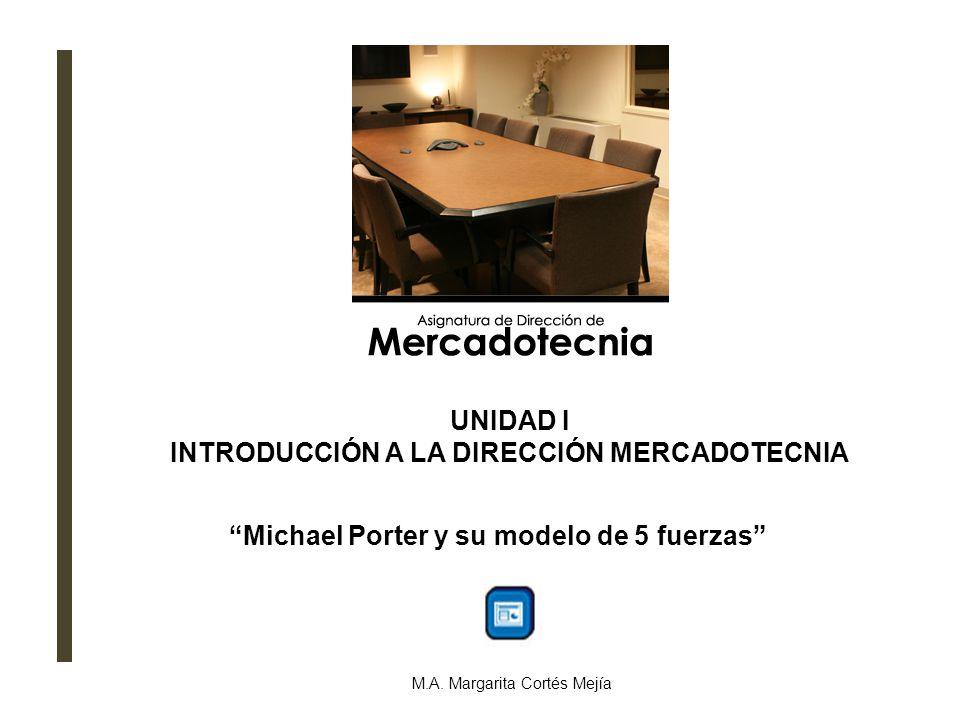 Michael Porter y su modelo de 5 fuerzas M.A.