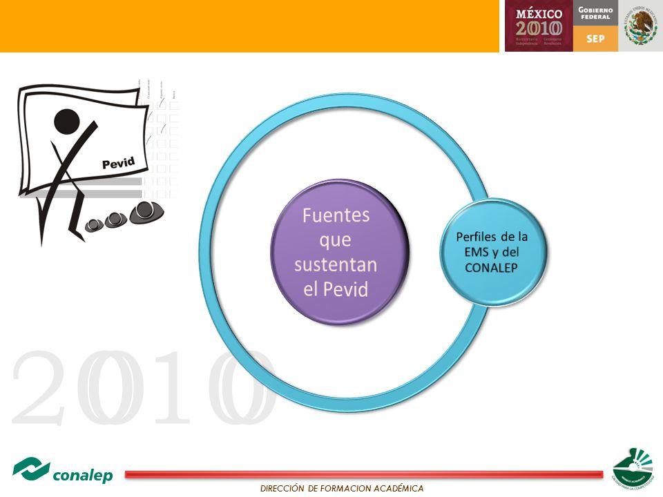 20100 DIRECCIÓN DE FORMACION ACADÉMICA