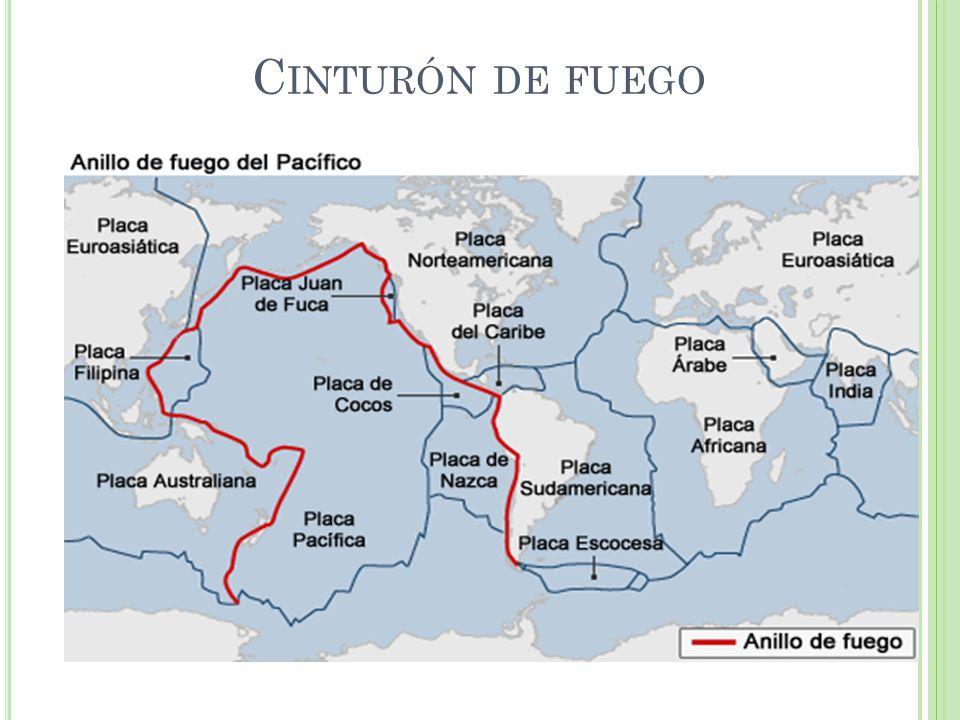 C INTURÓN DE FUEGO