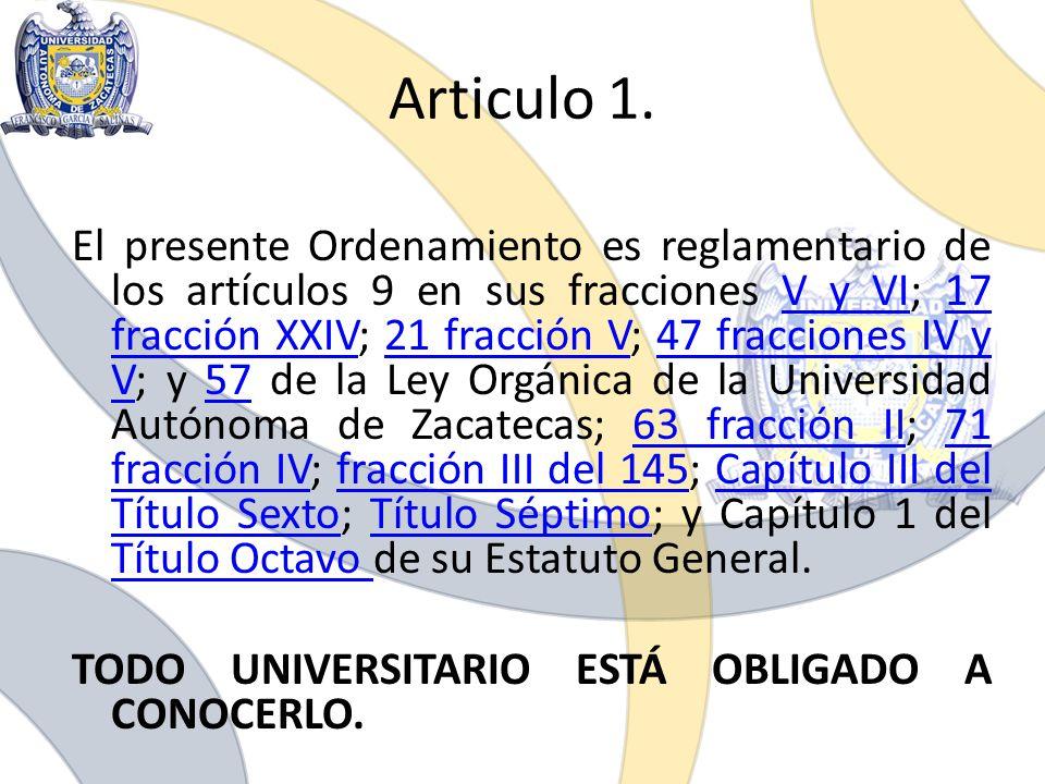 Articulo 1. El presente Ordenamiento es reglamentario de los artículos 9 en sus fracciones V y VI; 17 fracción XXIV; 21 fracción V; 47 fracciones IV y
