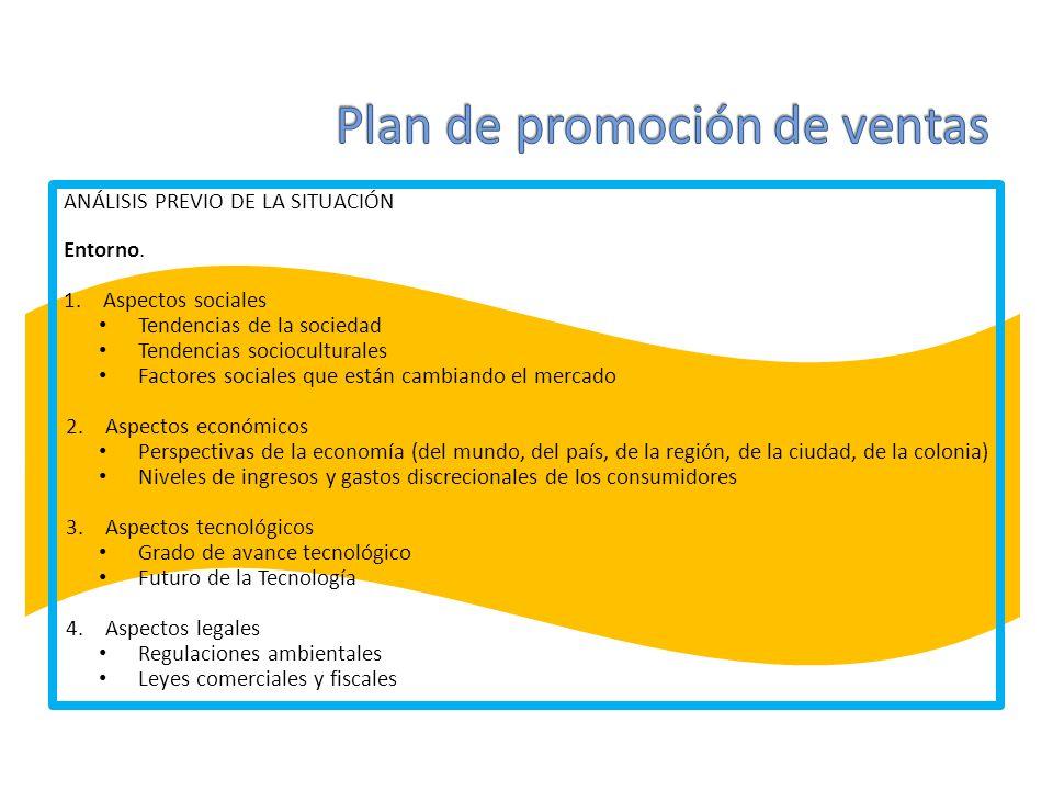 ANÁLISIS PREVIO DE LA SITUACIÓN Mercado.