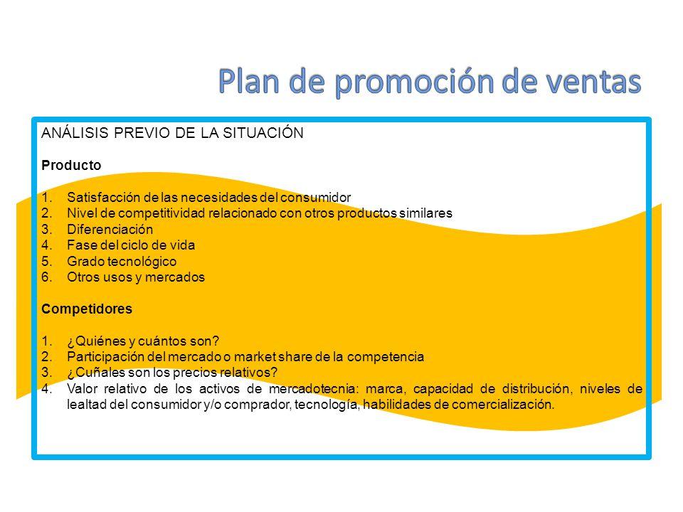 ANÁLISIS PREVIO DE LA SITUACIÓN Empresa.