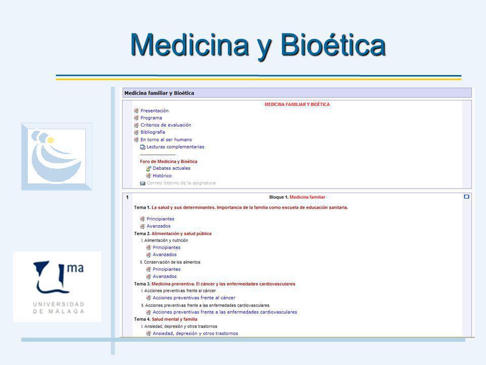 Medicina y Bioética