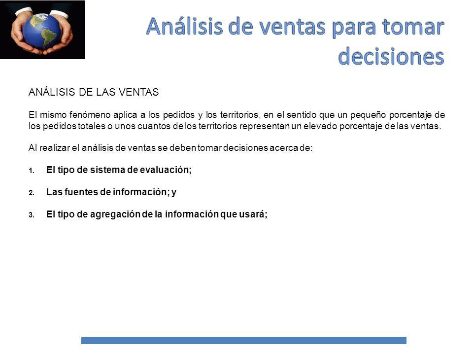 DECISIONES CLAVE PARA REALIZAR UN ANÁLISIS DE VENTAS