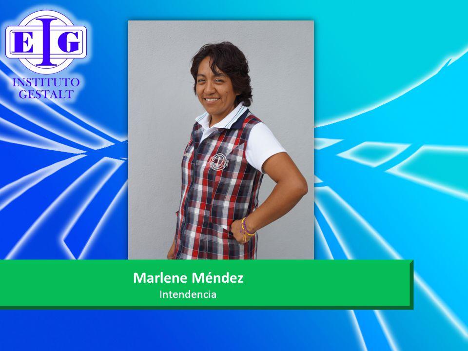Marlene Méndez Intendencia