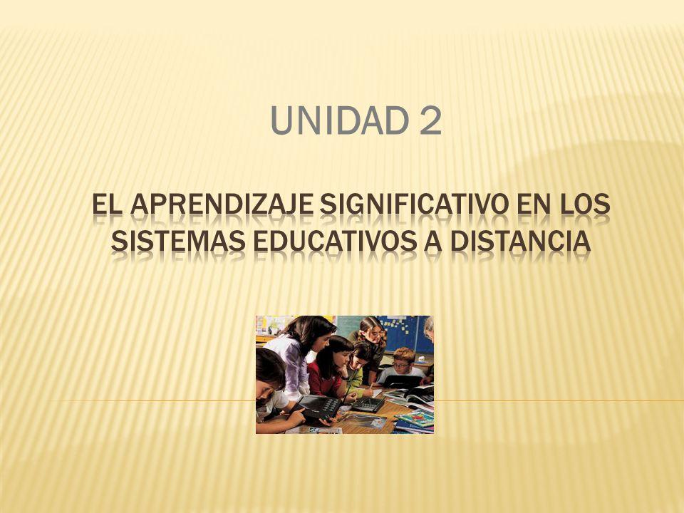 Temas que se abordan dentro de la Unidad El aprendizaje significativo dentro de los ambientes educativos forma parte de las principales herramientas del docente que se encuentra en un ambiente educativo.