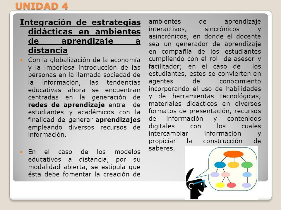 Integración de estrategias didácticas en ambientes de aprendizaje a distancia Con la globalización de la economía y la imperiosa introducción de las p