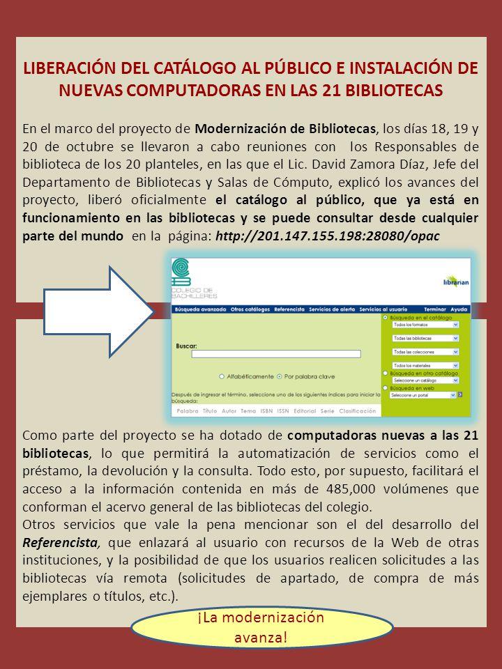 Queremos apoyar tus necesidades de información.¡Consúltala y participa.