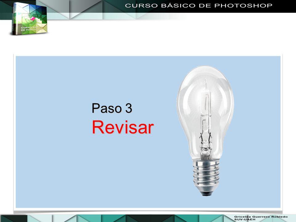 Paso 3 Revisar