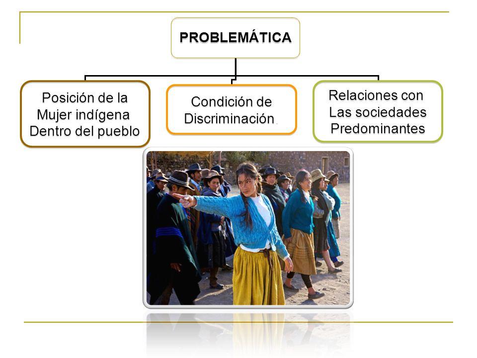 En los países del continente americano la pobreza suele concentrarse en regiones con alta población indígena.