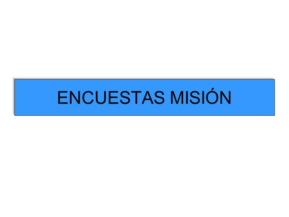 ENCUESTAS MISIÓN