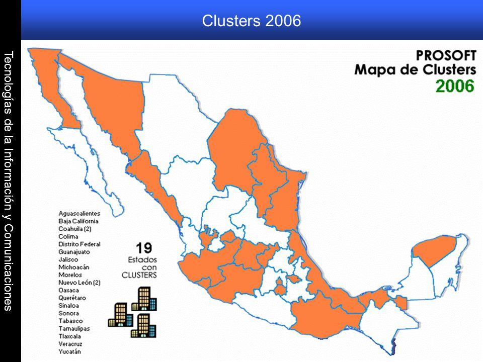 Tecnologías de la Información y Comunicaciones Clusters 2006