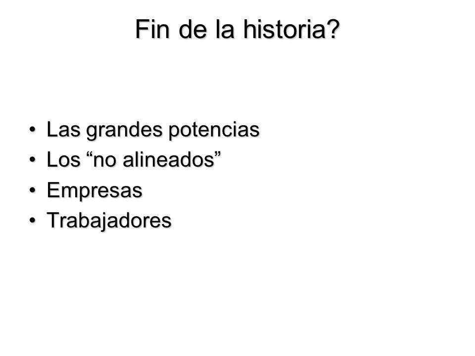 Fin de la historia.