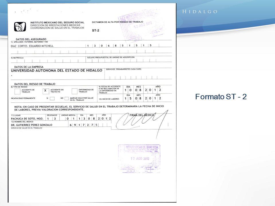 Formato ST - 2
