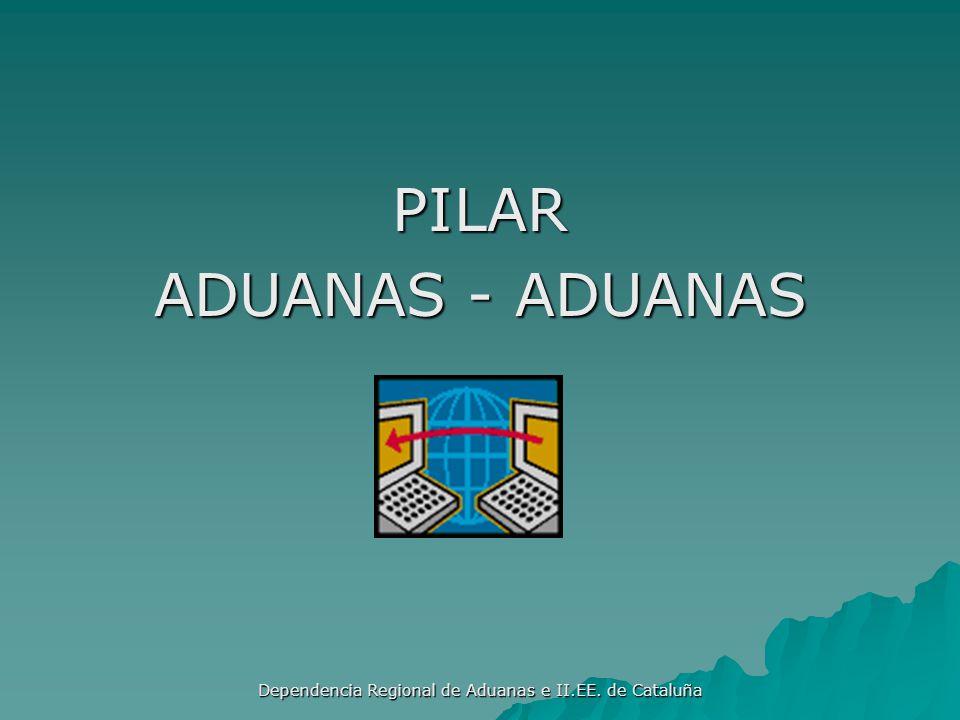 Dependencia Regional de Aduanas e II.EE. de Cataluña PILARES DEL MARCO Aduanas – Aduanas Aduanas – Aduanas (11 Normas) (11 Normas) Aduanas- Empresa Ad