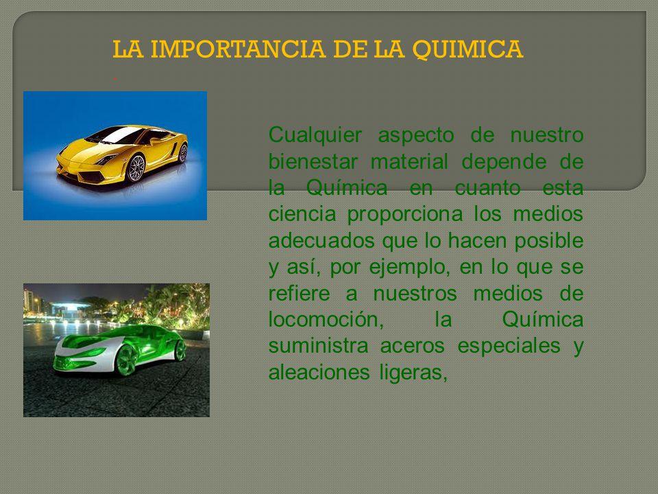 DESVENTAJAS DE LA QUIMICA.