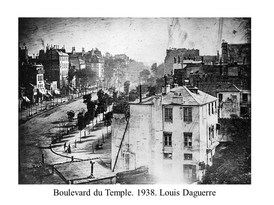 Boulevard du Temple. 1938. Louis Daguerre