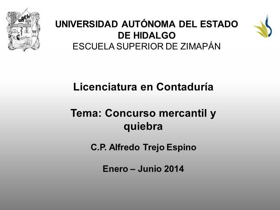 Bibliografía del tema: diputados, C.d. (2014). Ley de concursos mercantiles y quiebras.